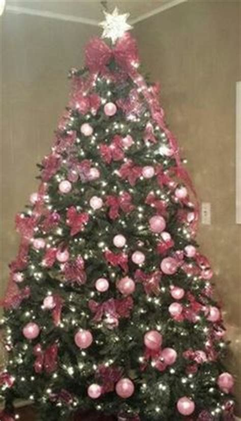 breast cancer christmas tree for breast care to hold