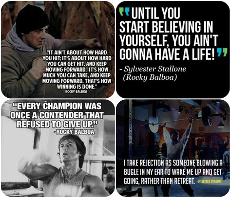 film quotes rocky motivation from rocky fede belle