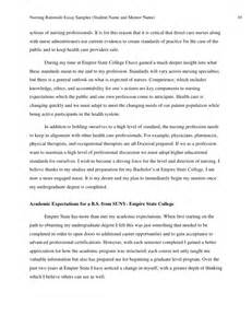 Nursing Mentorship Essay by Rationale Essay Sles A B C 9 2010