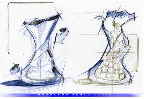create pattern sketch 3 vase design sketch 02 by nurullahdemir on deviantart
