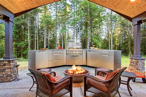 New Age Outdoor Kitchen | bringing value to luxury home categories