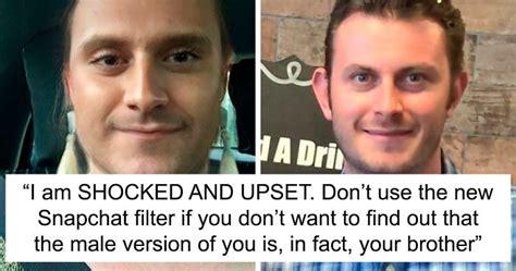 people    newest genderswap snapchat filter