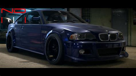bmw m3 modified bmw m3 e46 2006 modified nfs2015 sound