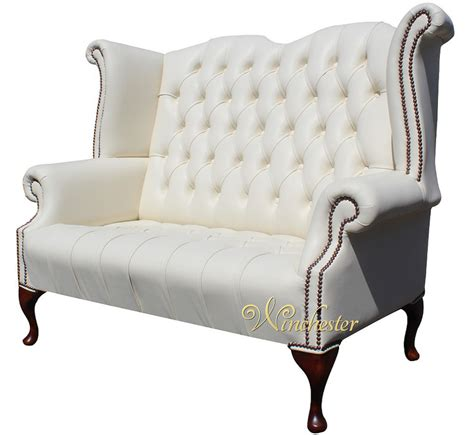 chesterfield high back sofa chesterfield newby 2 seater queen anne high back wing