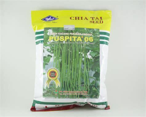 Benih Kacang Panjang Puspita chiatai puspita 06 k panjang 50gr tanismart toko