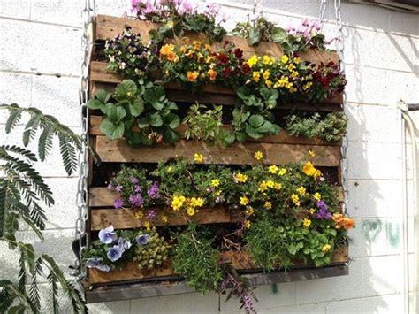 pallet garden wall 10 wood pallet vertical garden on your wall pallets designs