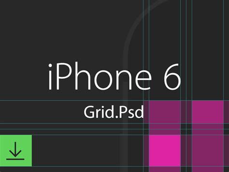 iphone 6 grid layout psd a gem for app and ui ux iphone 6 grid by eddie lobanovskiy dribbble