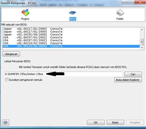 format game ps2 di pc cara instal ps2 di laptop menggunakan pcsx2