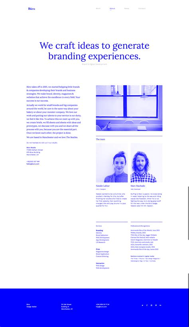 Buro Minimal Bootstrap Typography Portfolio Template By Vankarwai Bootstrap Portfolio Templates