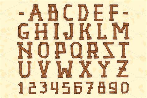 wild wood font images wood fonts   wood