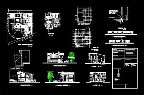 home design dwg free 3 modern houses design dwg 02 architecture design sketchup dwg tutorials