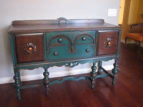 sideboard buffet furniture peacock green sideboard