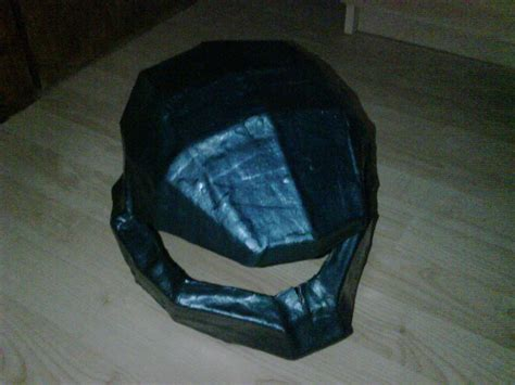 How To Make A Halo Helmet Out Of Paper - halo helmet 183 how to make a papercraft 183 papercraft on cut