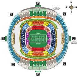 Mercedes Superdome Map Mercedes Superdome New Orleans La Seating Chart View