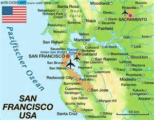 map of california san jose map travel