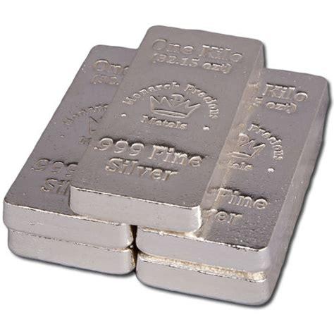 1 Kilo Silver Bar by Buy 1 Kilo Monarch Poured Stacker Silver Bars Silver