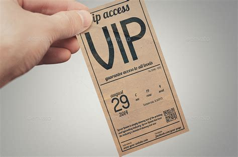 vip pass card template vintage style vip pass card by tzochko graphicriver