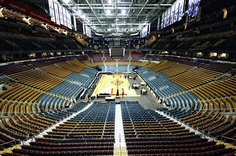 Air Canada Center Floor Plan From Ice Rink To Basketball Court At The Acc