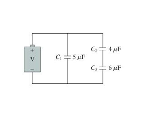 potential difference across a capacitor as a function of time what is the charge on each capacitor in the figure chegg