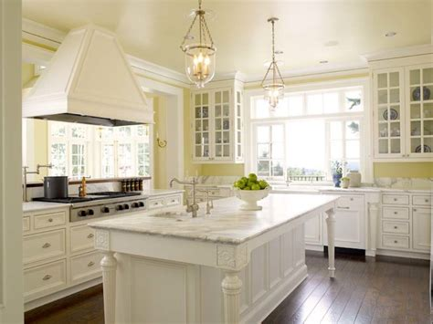yellow kitchen with white cabinets yellow kitchen design ideas