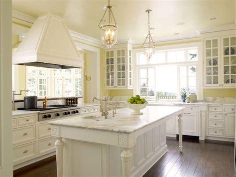 white  yellow kitchen traditional kitchen