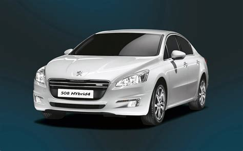 peugeot sedan 2013 2013 peugeot 508 sedan packed with hybrid4 powertrain