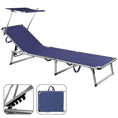 Chair Sun Shade by Folding Sun Lounger Bed Steamer Chair Sun Shade Outdoor