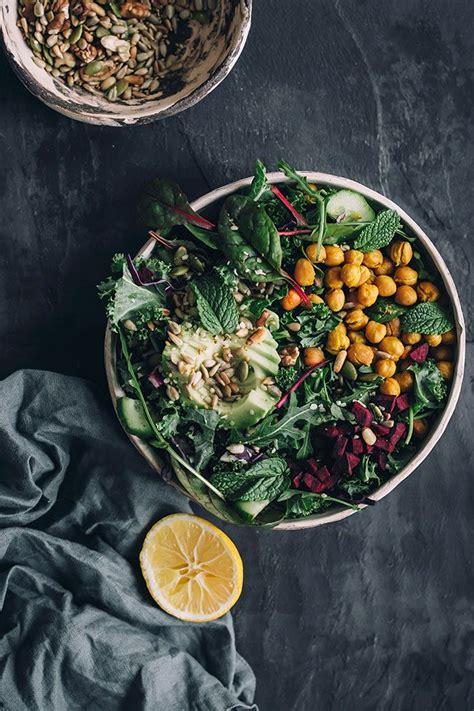 Hearty Detox Salad by 6010 Best Leafy Greens Images On