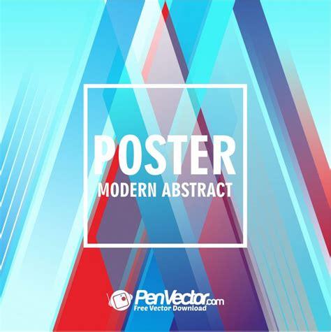 poster modern modern poster background free vector