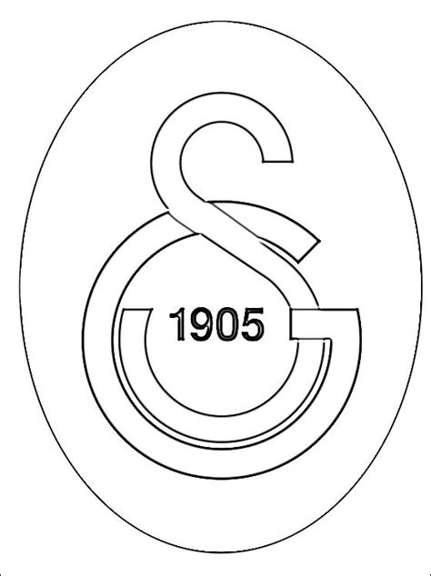 football turkey coloring page logo of galatasaray s k football team coloring pages