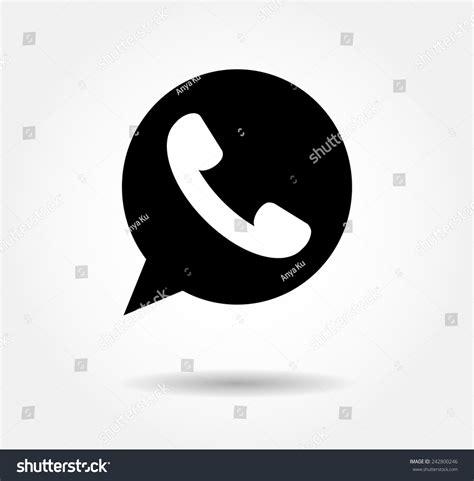 whatsapp layout vector button whatsapp icon vector background jpg stock vector