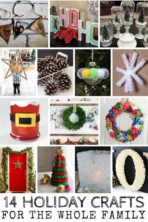 14 holiday crafts for the whole family mom spark mom