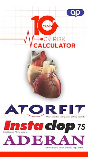 10 year cv risk calculator for pc