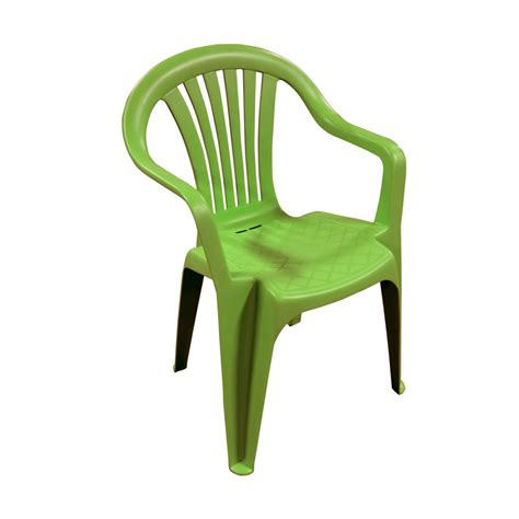Green Resin Patio Chairs   Nardi Flora Recliner Green