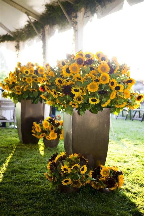 sunflower arrangements ideas top 25 best flower arrangements ideas on
