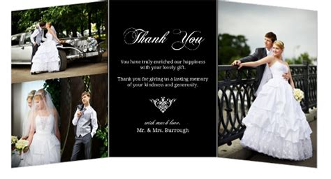 thank you for our wedding gift cards wedding thank you card wording sles sayings
