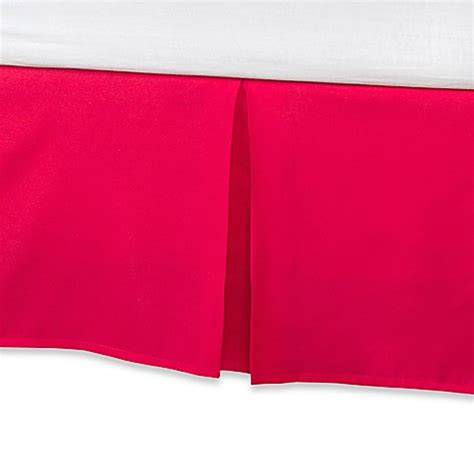 long bed skirt self expressions 174 twin extra long bed skirt bed bath
