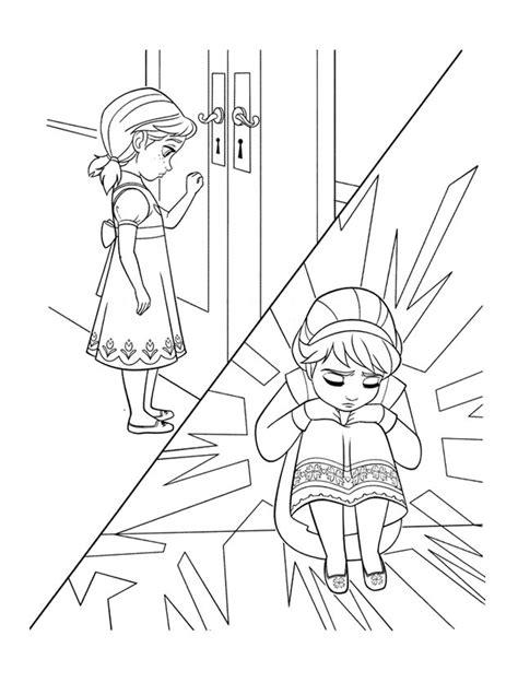 dibujos para colorear de elsa y anna frozen princesas disney elsa y anna para colorear imprimir y pintar