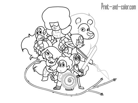 Coloring Page Universe by Steven Universe Coloring Pages Www Pixshark Images