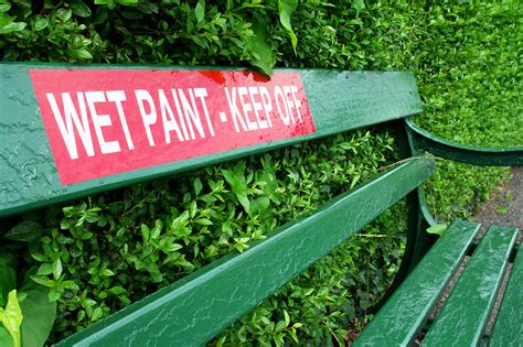 bench sign bench signs freshly painted green park bench download free