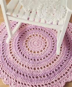home dzine craft ideas how to crochet a mandala floor rug