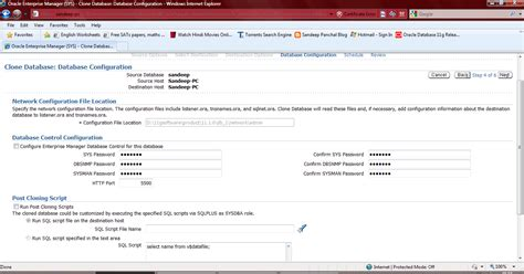 tutorial oracle enterprise manager 11g sandeep panchal blog oracle enterprise manager 11g step