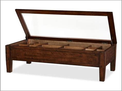harmonious shadow box coffee table