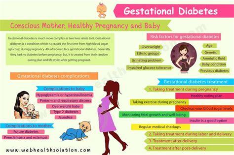 gestational diabetes is a big tension but healthy