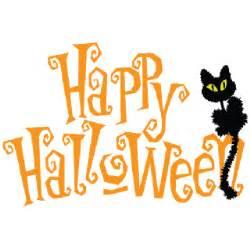 cat happy halloween clipart clipartxtras