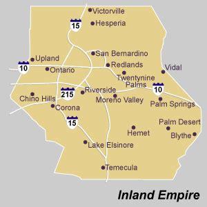 map of inland empire california 302 found