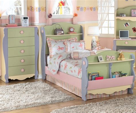 ashley girls bedroom furniture doll house sleigh bed twin size bedroom furniture beds