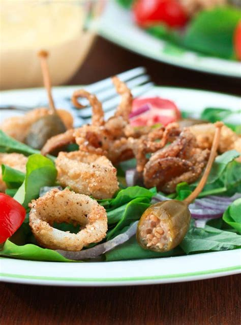fried calamari salad 103 best images about squid dishes on pinterest grilled