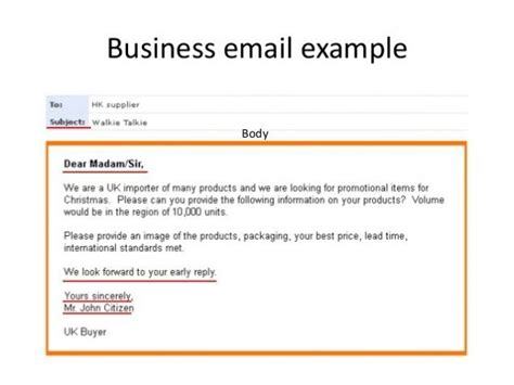 business email templates exles business email exle complaintsblog