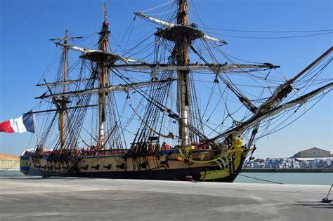hermione bateau dimension hermione essais en mer marine marchande